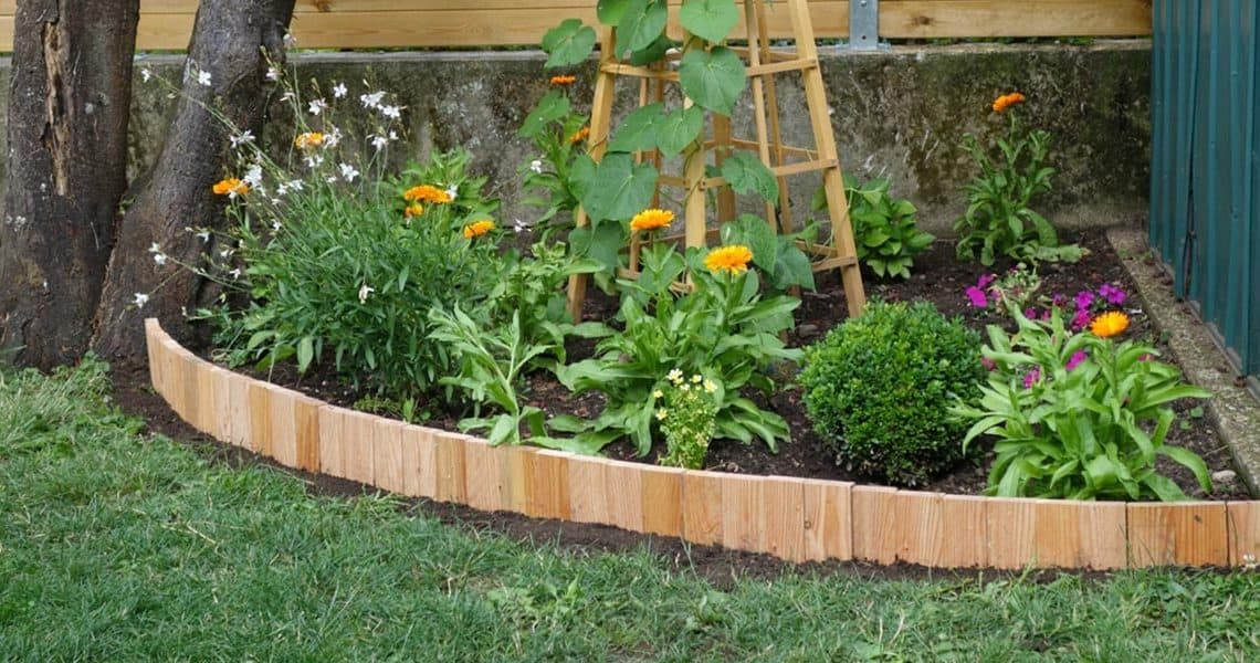 Bordure de jardin : 5 bordures pas chères