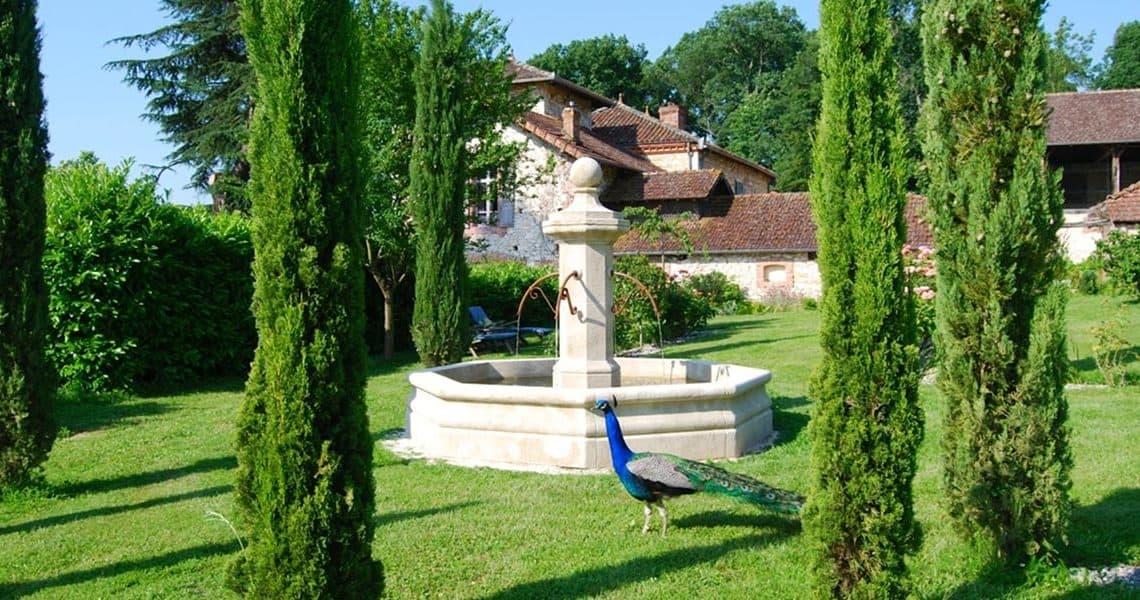 Fontaine de jardin : les 5 meilleures fontaines extérieures